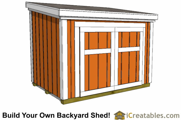 5x7 generator enclosure shed plans