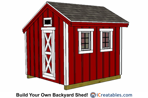 8x8 Chicken Coop Plans - Large Chicken Coop Plans