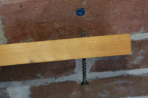 Using Concrete Screws To Screw To Concrete Drill And