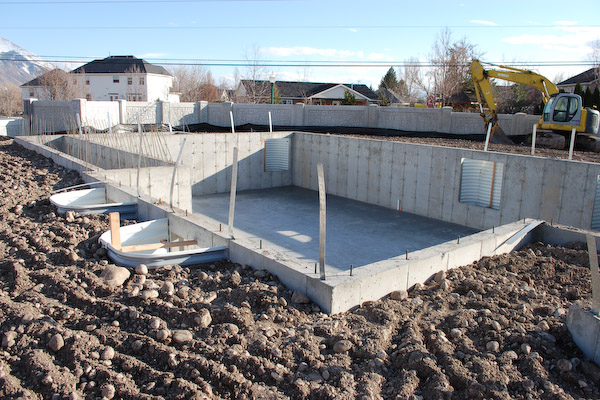 Ready to build house plans house plans new zealand durham for Best backfill material for foundation
