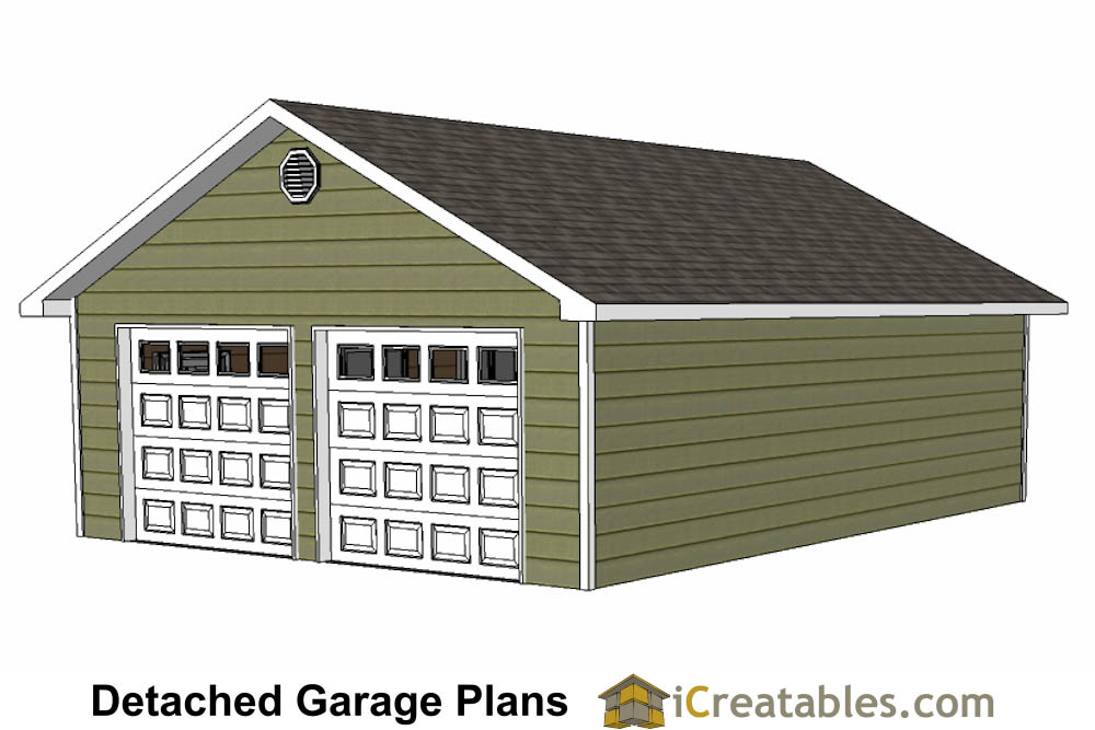 24x32 garage plans for 24 x 24 garage plans