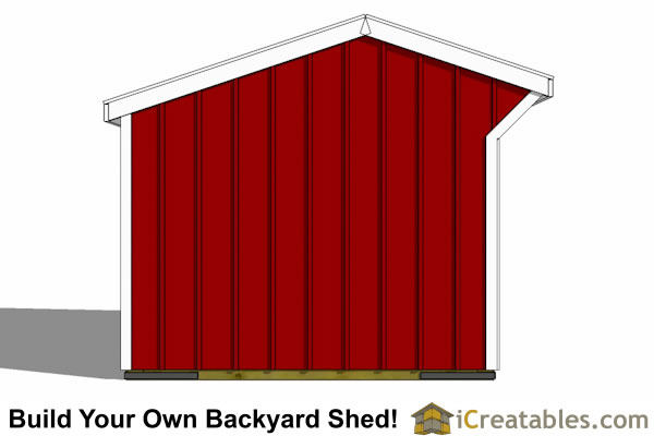 10x10 one stall horse barn plans small horse barn plans for 10x10 door