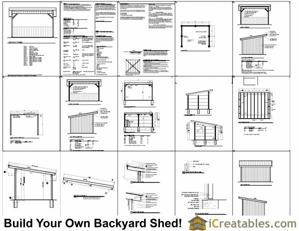 2017 Easy To Follow Shed Plans