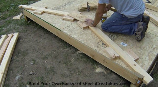 Building+Roof+Rafters How To Build A Shed Roof Rafters | icreatables ...
