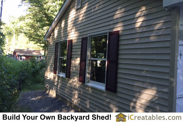 Two Car Garage Installed Barns Carports More: Pictures Of Sheds With Garage Doors