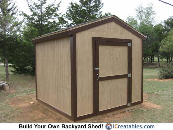 Pictures of backyard shed plans backyard shed photos for Gable sheds