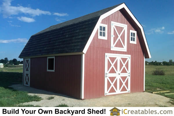 16x24 Storage Building : Icreatables shed materials list joy studio design
