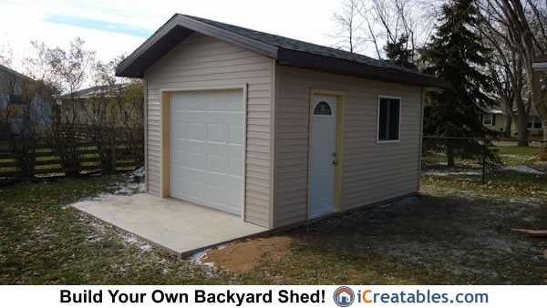 My post 12x16 shed icreatables Workshop plans 12x16