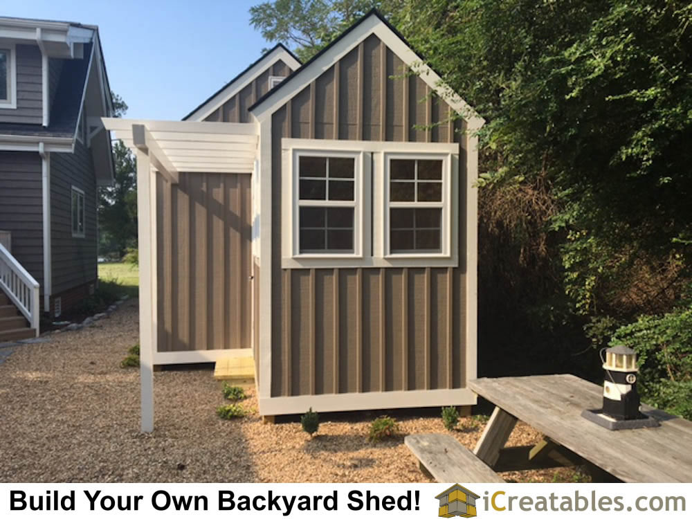 Garden shed photos pictures of garden sheds for Garden shed blueprints