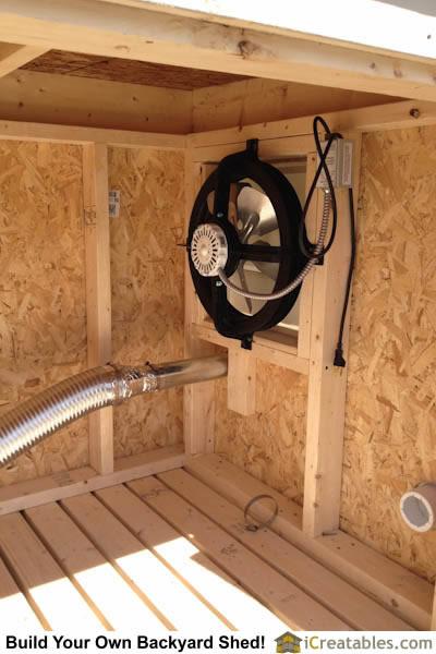 Portable Garage Ventilation : Pictures of generator sheds photos