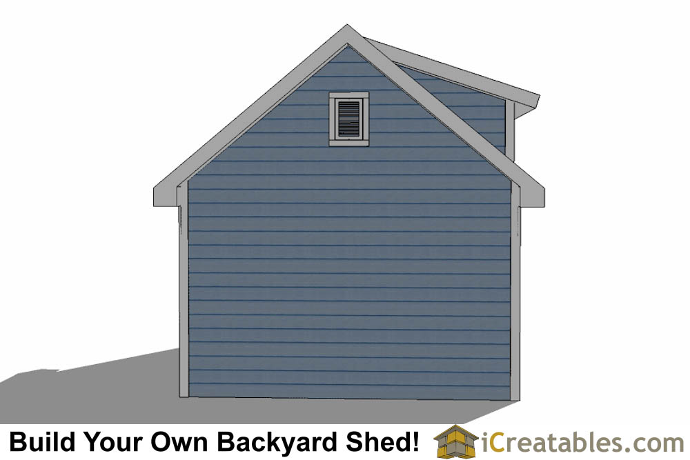 10x16 Shed Plans With Dormer Icreatables Com