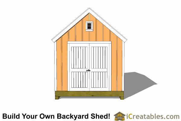10x14 colonial shed plans icreatables sheds for Colonial shed plans