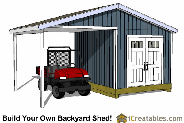 Shed Plans With Porch | Build Your Own Shed With A Porch