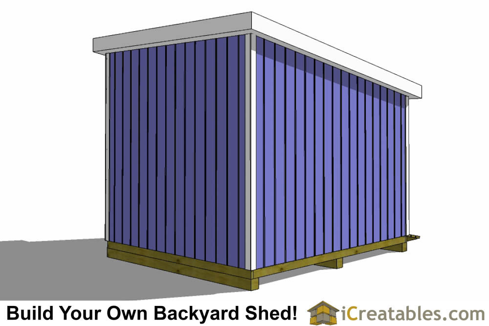 12x10 Lean To Shed Plans Icreatables Com