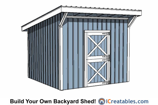 12x12 shed plans build your own storage lean to or Build your own cupola