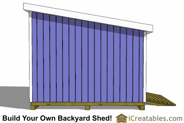 12x12 Lean To Shed Plans | icreatables.com