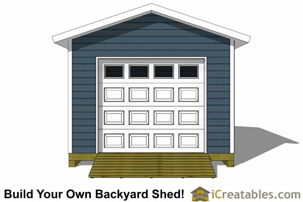 12x16 shed plans with garage door icreatables Workshop plans 12x16