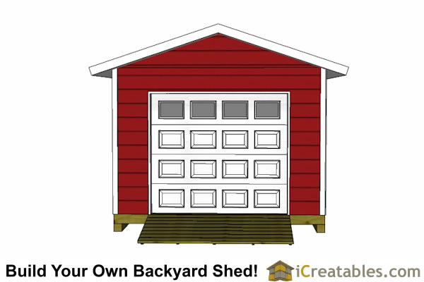 12x20 garage shed plans for 12 x 12 garage door