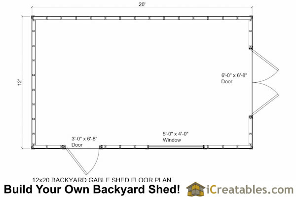Floor plans for a storage shed small shed construction for Store building plans