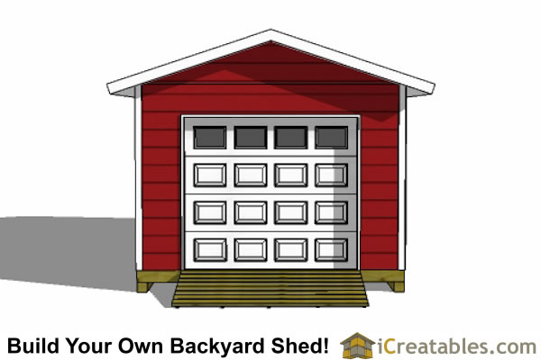 12x24 garage shed plans for 12 x 12 garage door