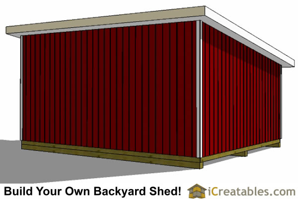 16x20 lean to shed plans perfect way to build a large for 16x20 garage plans