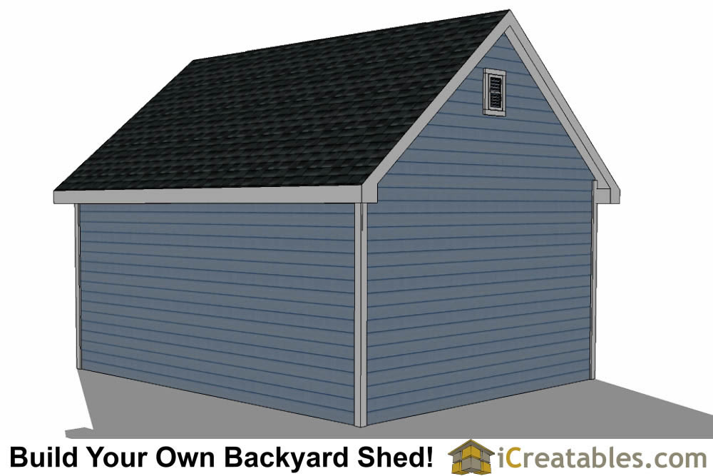 14x20 Shed Plans With Dormer Icreatables Com