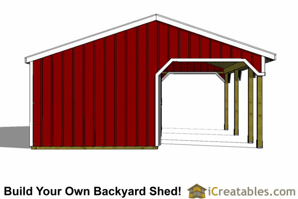 2 stall horse barn plans with lean to and tack room 2 stall horse barn