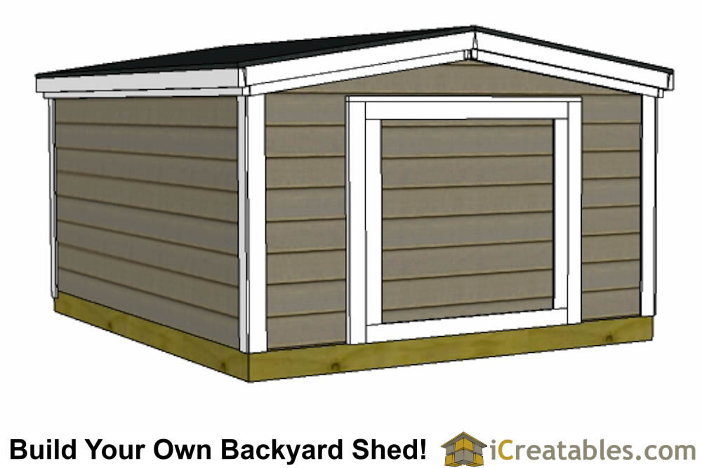Image Result For Shed Plans Less Than Tall