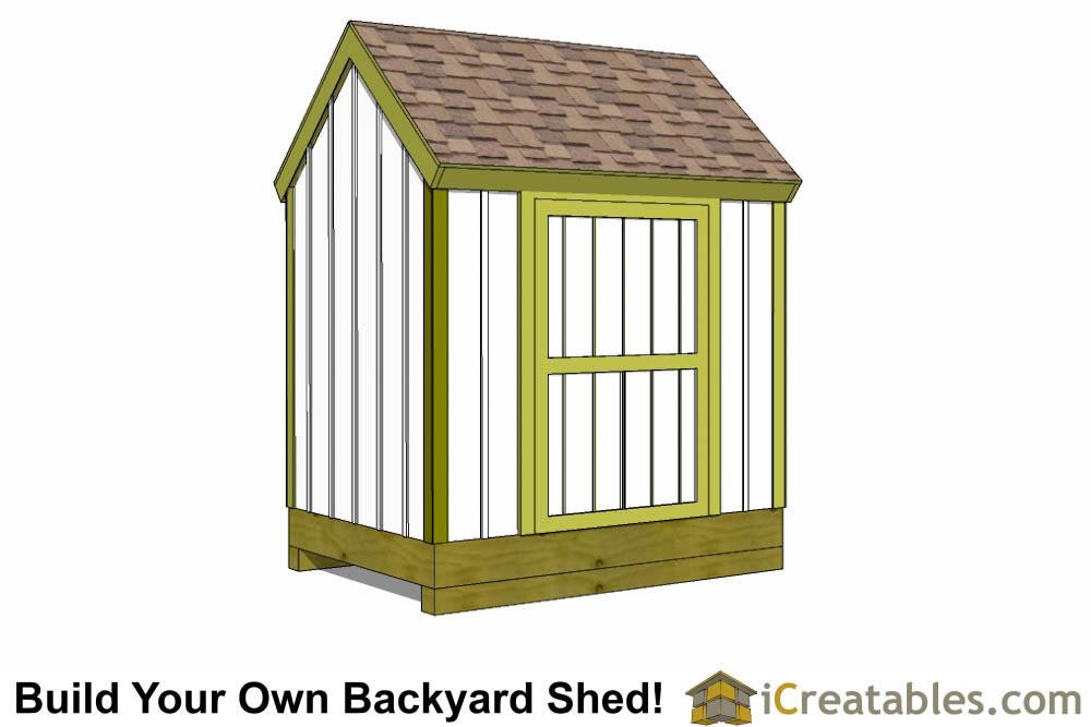 6x8 cape cod garden shed plans storage shed plans for Cape cod shed plans