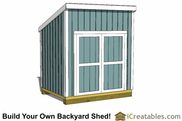 6x8 Lean To Shed Plans Icreatables Com