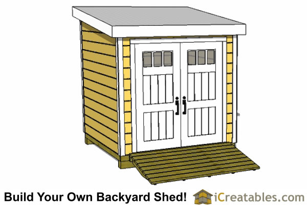8x8 lean to shed plans storage shed plans for Buy shed plans