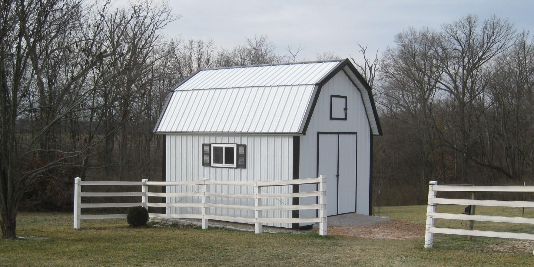Barn Shed Plans Classic American Gambrel Diy Barn Designs